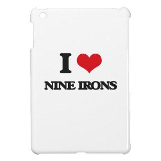 I love Nine Irons iPad Mini Cover