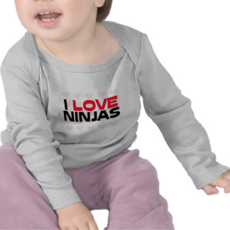 I LOVE NINJAS TEES