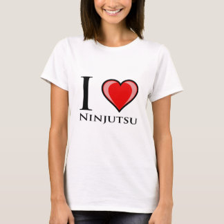 I Love Ninjutsu T-Shirt