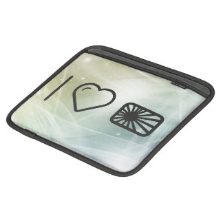 I Love Nippons iPad Sleeve