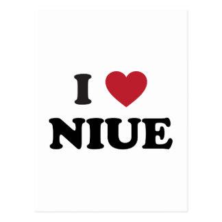 I Love Niue Postcard