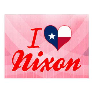 I Love Nixon Texas Post Card