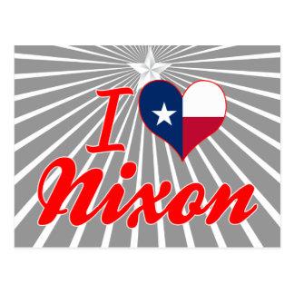 I Love Nixon Texas Postcard
