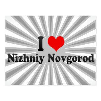 I Love Nizhniy Novgorod, Russia Postcard