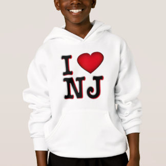 I Love NJ Apparel & Merchandise Hoodie