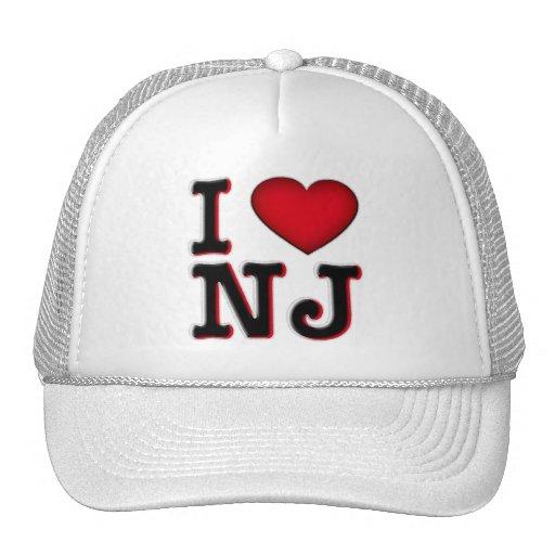 I Love NJ Apparel & Merchandise Trucker Hat