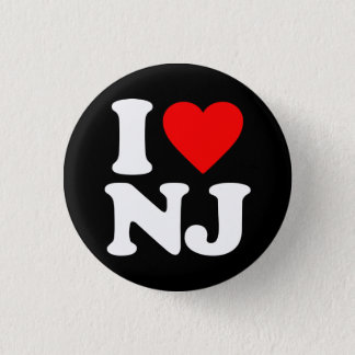 I LOVE NJ BUTTON