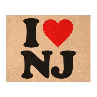 I LOVE NJ CORK PAPER