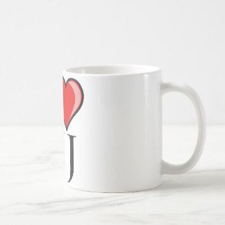 I Love NJ - New Jersey Coffee Mug