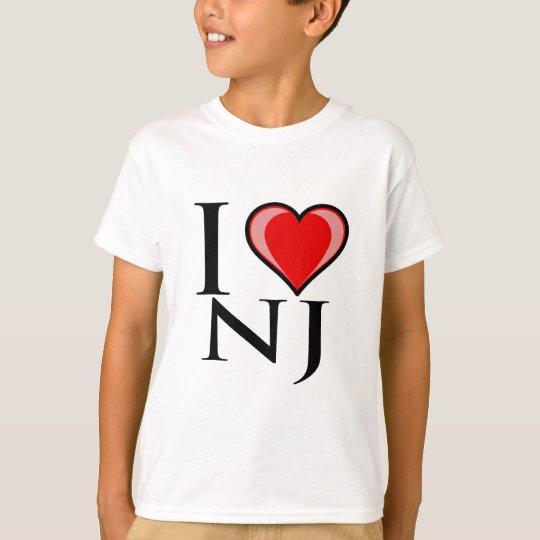 I Love NJ - New Jersey T-Shirt