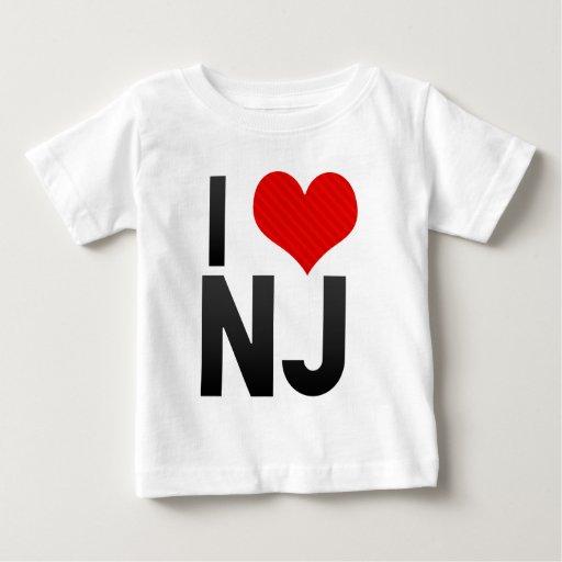 I Love NJ Shirt