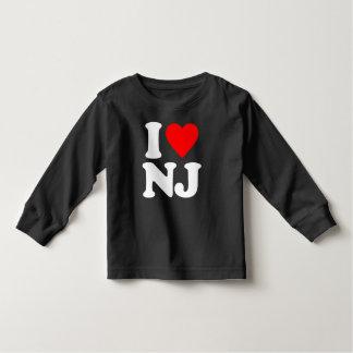 I LOVE NJ TODDLER T-SHIRT