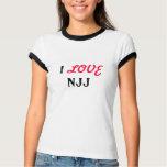 I, LOVE, NJJ T-Shirt
