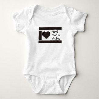 i love njs baby bodysuit
