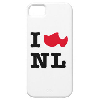 I love NL iPhone SE/5/5s Case