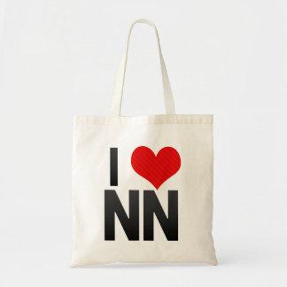 I Love NN Tote Bag