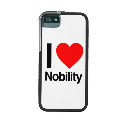 i love nobility iPhone 5 covers