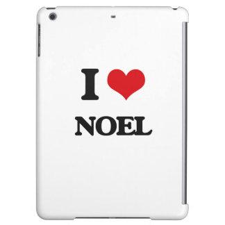 I Love Noel iPad Air Cases