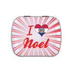 I Love Noel, Missouri Jelly Belly Candy Tin
