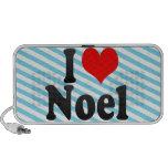 I love Noel Notebook Speaker