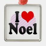 I love Noel Ornament