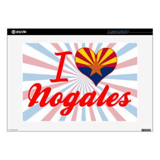 I Love Nogales, Arizona Skins For Laptops