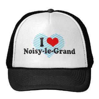 I Love Noisy-le-Grand, France Mesh Hats
