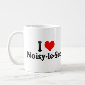 I Love Noisy-le-Sec, France Mugs
