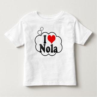 I love Nola Toddler T-shirt