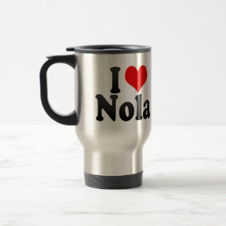 I love Nola Travel Mug