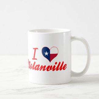 I Love Nolanville, Texas Classic White Coffee Mug