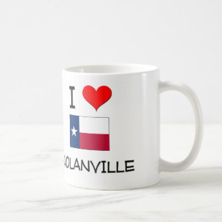 I Love Nolanville Texas Classic White Coffee Mug