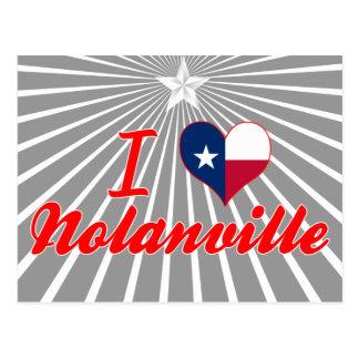 I Love Nolanville, Texas Postcard