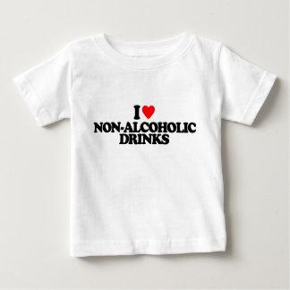 I LOVE NON-ALCOHOLIC DRINKS TEE SHIRTS