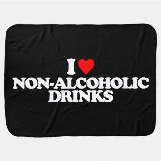 I LOVE NON-ALCOHOLIC DRINKS SWADDLE BLANKET