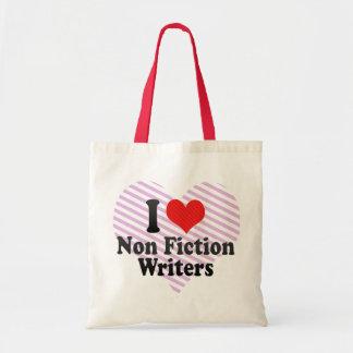 I Love Non Fiction Writers Bag