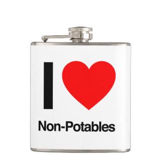 i love non-potables hip flasks