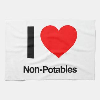 i love non-potables towels