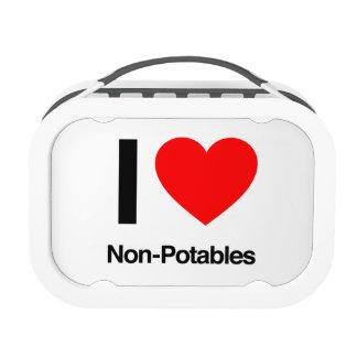 i love non-potables yubo lunch box