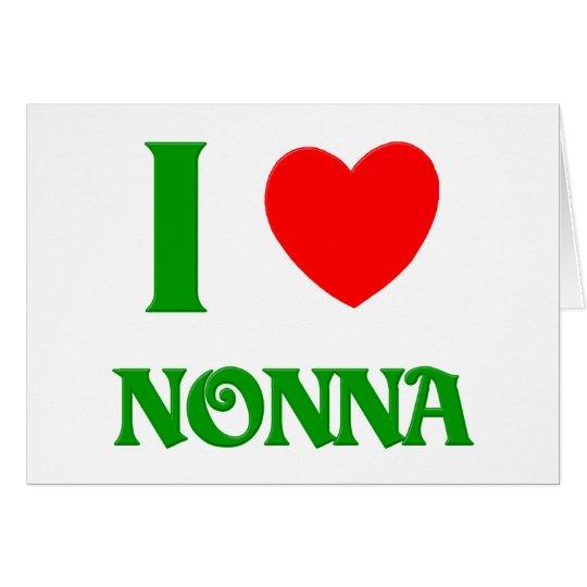 I  Love Nonna Card