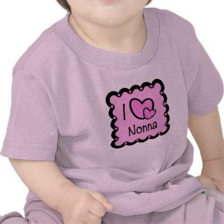 I Love Nonna Cute T-Shirt