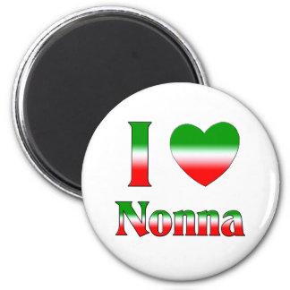 I Love Nonna (Italian Grandmother) Magnet