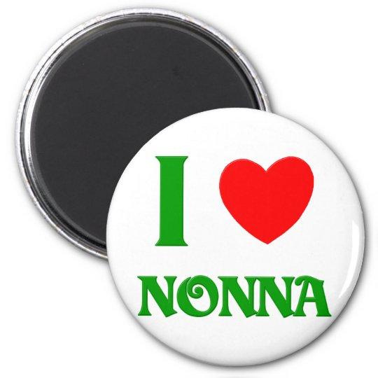 I  Love Nonna Magnet