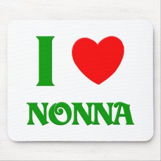 I Love Nonna Mouse Pad