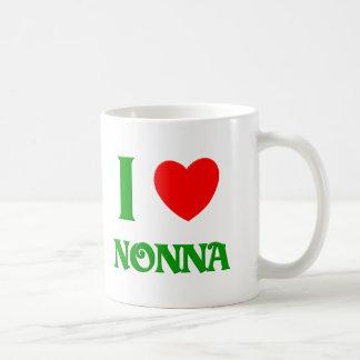 I Love Nonna Classic White Coffee Mug