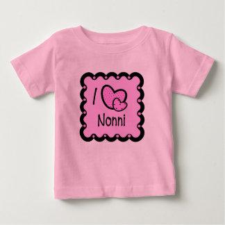 I Love Nonni Cute T-Shirt