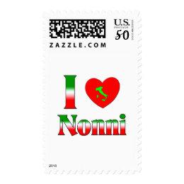 I  Love Nonni Postage