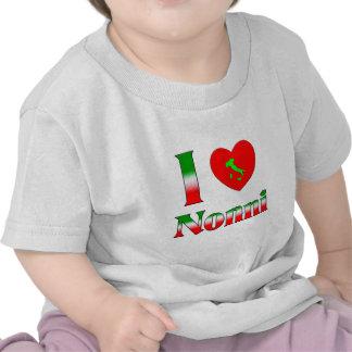 I  Love Nonni Tshirts