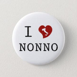 I Love Nonno Button