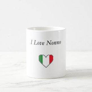 I Love Nonno Coffee Mugs